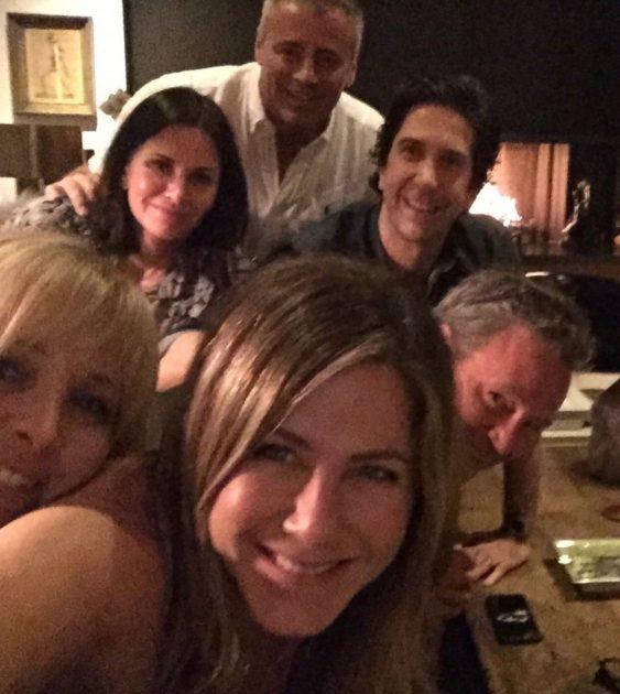 Jennifer aniston Friends Back Together