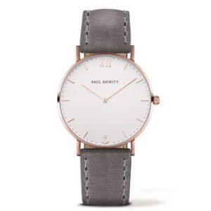 Paul Hewitt Sailor Line Rose Gold & Grey Watch loving the sales