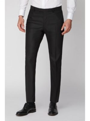 Limehaus Black Texture Slim Trouser 28r Black loving the sales