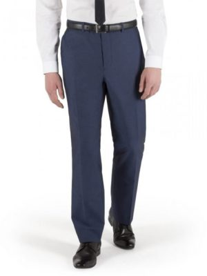 Limehaus Bright Blue Tonic Slim Suit Trouser 30s Blue loving the sales