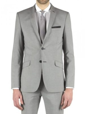 Limehaus Grey Puppytooth Slim Fit Suit Jacket 36r Grey loving the sales