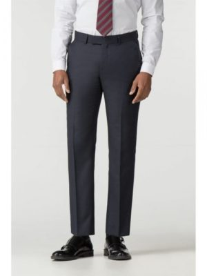 Navy Micro Wool Blend Tailored Fit Suit Trouser 38l Navy loving the sales