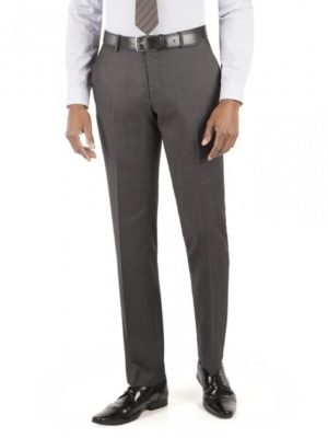 Racing Green Charcoal Micro Tailored Fit Suit Trouser 40l Charcoal loving the sales