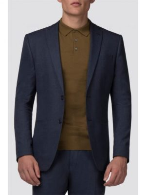 Slate Blue Jaspe Slim Fit Jacket 36l Blue loving the sales