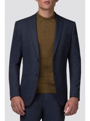 Slate Blue Jaspe Slim Fit Jacket 36l Blue loving the sales