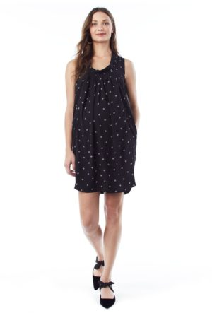 Anya In Branches- Sleeveless Nursing And Maternity Dress loving the sales