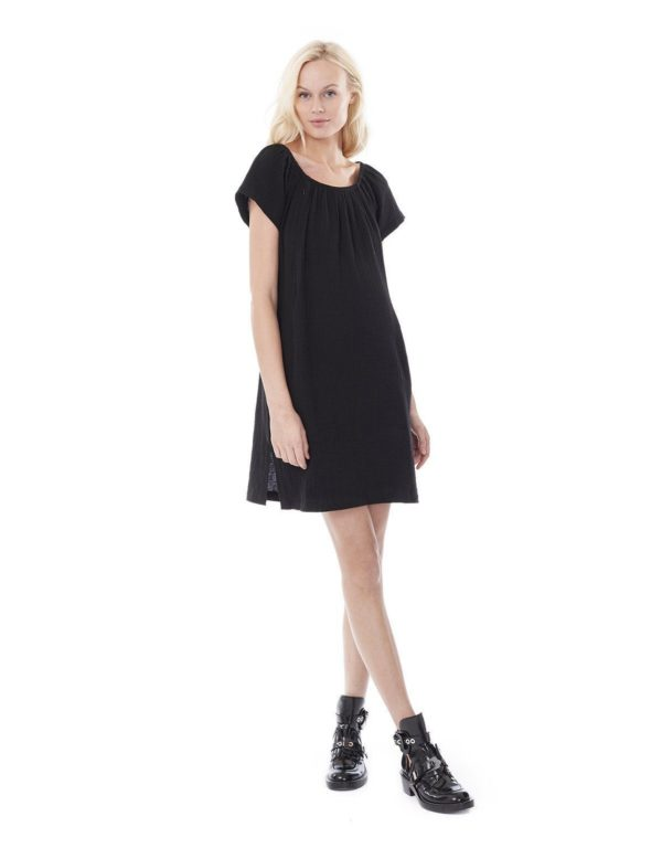 Ariel- Black Nursing And Maternity Dress loving the sales