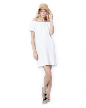 Ariel- White Nursing And Maternity Dress loving the sales
