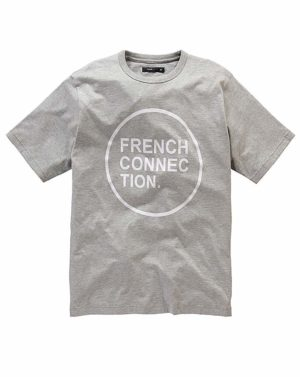 French Connection Circle Logo T-Shirt loving the sales