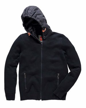 Le Breve Chrome Knitted Hood loving the sales