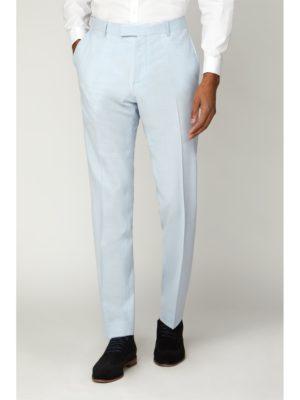 Limehaus Light Blue Slim Fit Trouser 40r Blue loving the sales