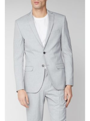 Limehaus Light Grey Slim Suit Jacket 36r Grey loving the sales