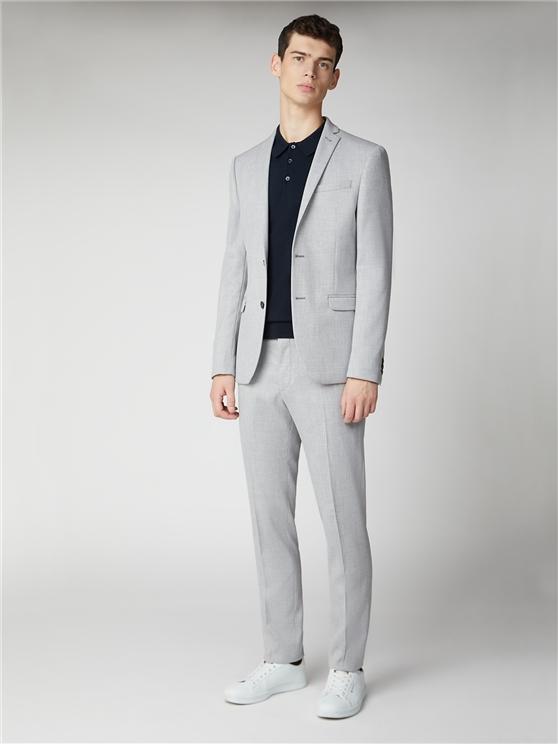 Men's Grey Structured Skinny Fit Suit   Ben Sherman   Est 1963 loving the sales