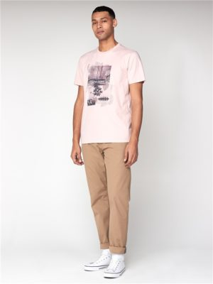 Men's Light Pink Promenade T-Shirt   Ben Sherman   Est 1963 - Small loving the sales