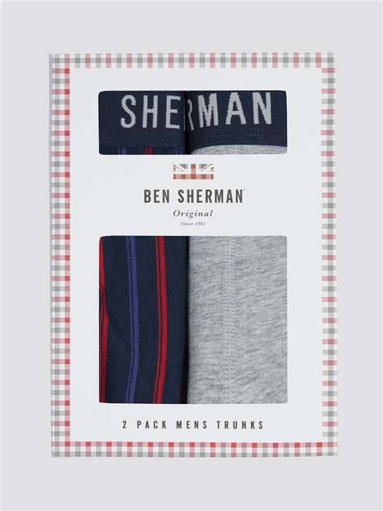 Men's Two Pack Of Boxer Shorts | Ben Sherman | Est 1963 - Small loving the sales