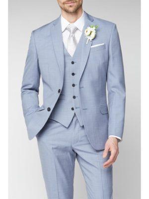 Occasions Pale Blue Regular Fit Suit Jacket 40s Blue loving the sales