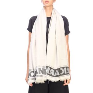 Scarf Brushed Scarf By Emporio Armani With Maxi Logo loving the sales