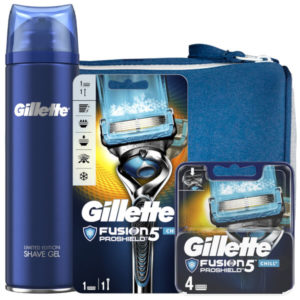 Gillette Fusion5 Proshield Chill Shaving Kit With Wash Bag loving the sales