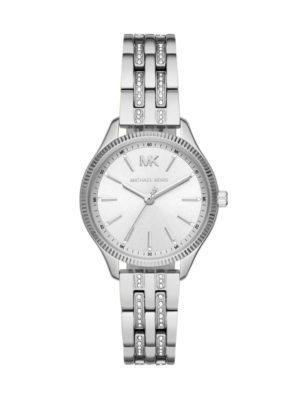 Michael Kors Ladies Lexington Pave Stainless Steel Bracelet Watch Mk6738 loving the sales