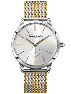Thomas Sabo Ladies Glam Spirit Mesh Bracelet Watch Wa0272-282-201-33 Mm loving the sales