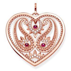 Thomas Sabo Ladies Rose Gold Tone Paisley Pendant Pe727-626-27 loving the sales
