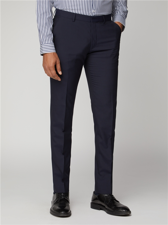 Blue Depths Tonic Suit Trouser Navy | Ben Sherman loving the sales