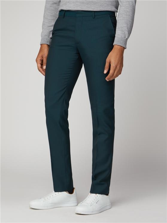 Sea Green Skinny Fit Tonic Suit Trouser | Ben Sherman | Est 1963 loving the sales