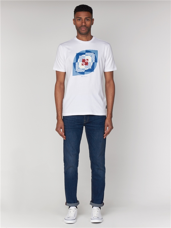 Square Target T-Shirt White | Ben Sherman - Small loving the sales