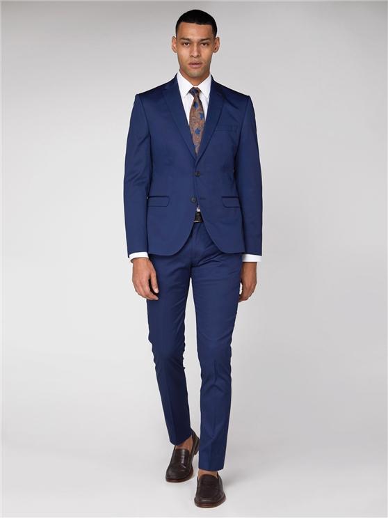 Blue Cotton Camden Suit | Ben Sherman loving the sales