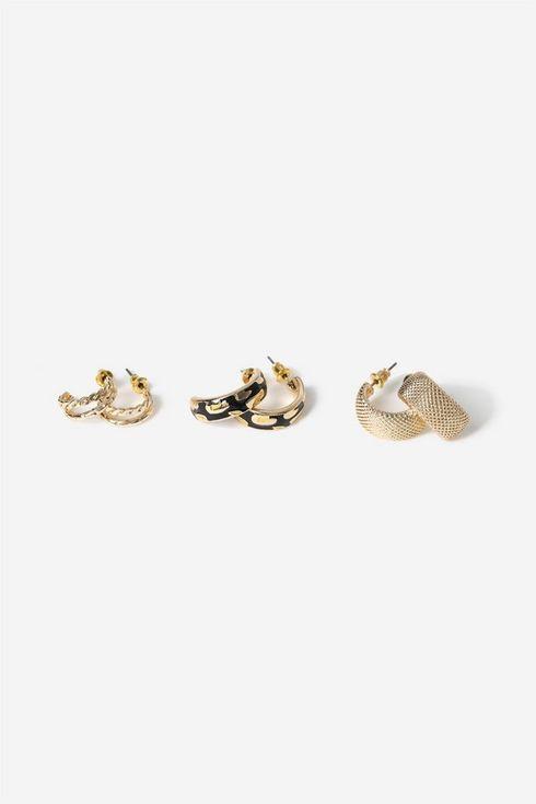 Gold Hoop Earring Pack
