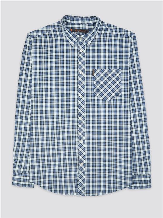 Long Sleeve Check Shirt Mint | Ben Sherman - Small loving the sales