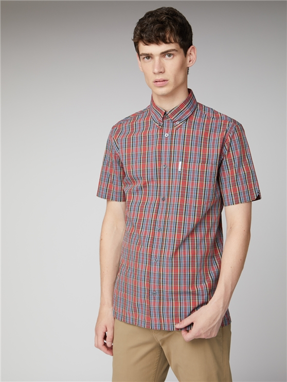 Mens Archive Red Carnaby Checked Shirt | Ben Sherman | Est 1963 - Xs loving the sales