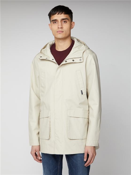 Men's Beige Four Pocket Jacket | Ben Sherman | Est 1963 - Xs loving the sales