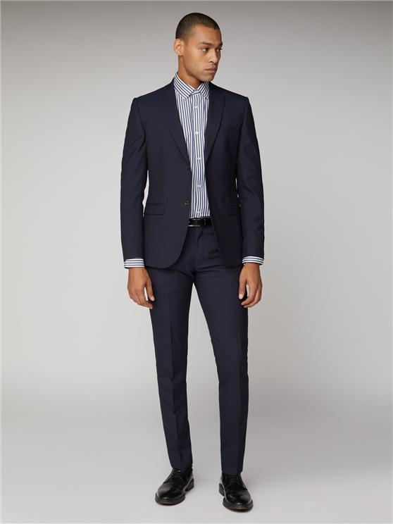 Men's Navy Blue Tonic Suit Jacket   Ben Sherman   Est 1963 loving the sales