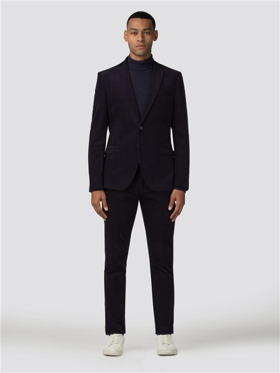 Men's Navy Corduroy 2 Piece Suit | Ben Sherman | Est 1963 loving the sales