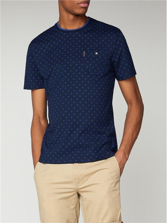 Target Print T-Shirt Navy | Ben Sherman - Xs loving the sales