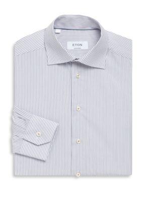 Contemporary-Fit Stripe Cotton Dress Shirt loving the sales