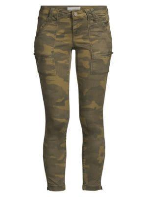 Park Camo Skinny Cargo Pants loving the sales