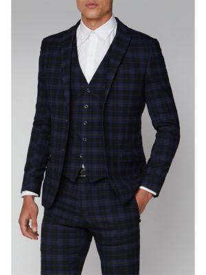 Ben Sherman Blue Mustard Check Slim Fit Suit Jacket 38r Blue loving the sales