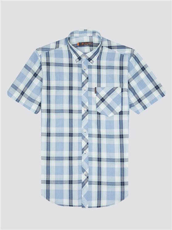 Ben Sherman Short Sleeve Large Check Shirt Mint | Ben Sherman - Small loving the sales