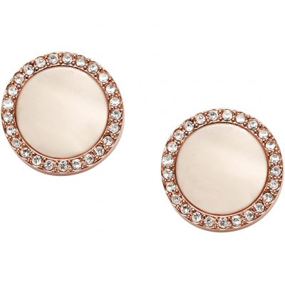 Ladies Fossil Pvd Rose Plating Fashion Earrings loving the sales