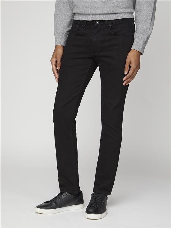 Men's Black Slim Fit Denim Jeans | Ben Sherman | Est 1963 - 30r loving the sales