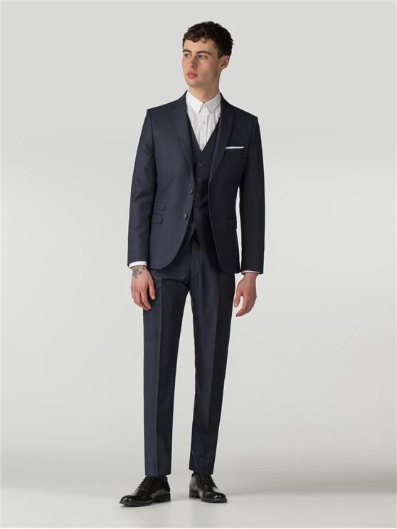 Men's Blue Textured Camden Fit Suit | Ben Sherman | Est 1963 loving the sales