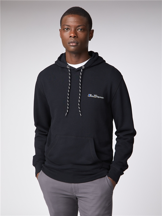 Men's Dark Grey Loopback Hoodie | Ben Sherman | Est 1963 - Small loving the sales