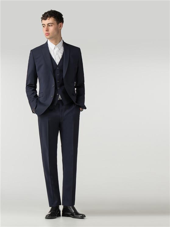 Men's Deep Blue Tonic Skinny Fit Suit | Ben Sherman | Est 1963 loving the sales