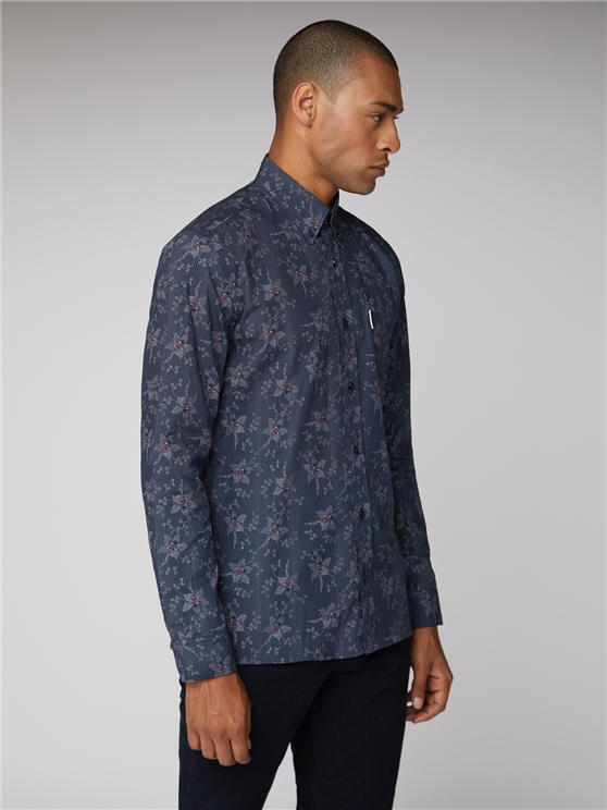 Men's Long Sleeve Archive Astoria Shirt   Ben Sherman   Est 1963 - Xs loving the sales