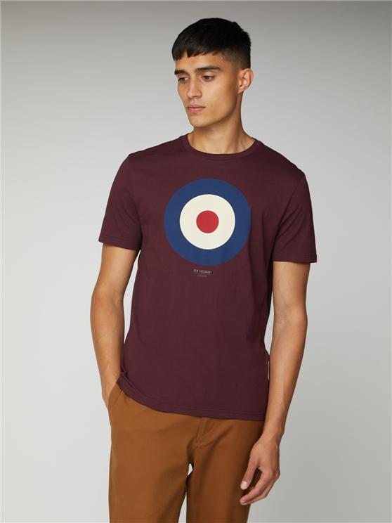 Men's Port Red Target T-Shirt | Ben Sherman | Est 1963 - Large loving the sales
