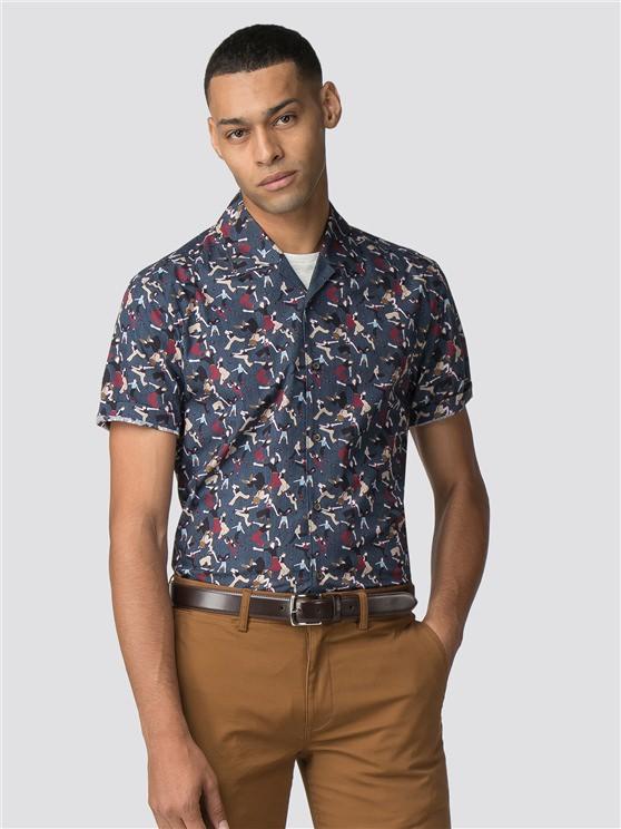 Men's Short Sleeve Soul Dancer Shirt | Ben Sherman | Est 1963 - Xl loving the sales