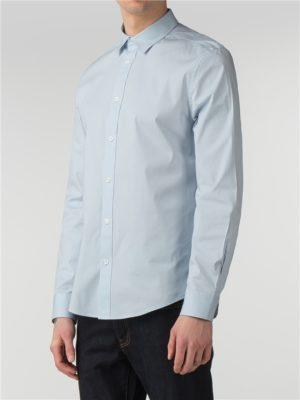 Men's Sky Blue Stretch Poplin Shirt | Ben Sherman | Est 1963 - Xs loving the sales
