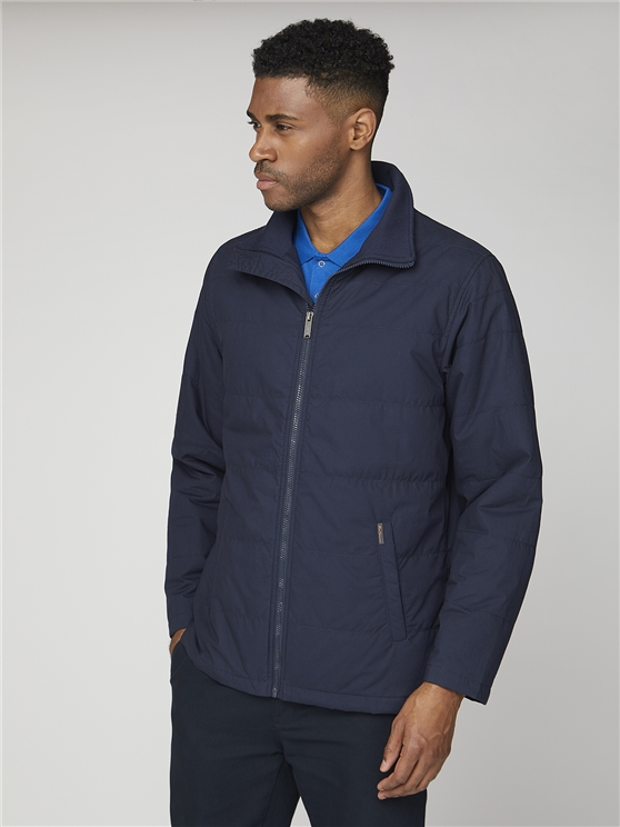 Padded Jacket Navy | Ben Sherman - Small loving the sales
